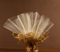 organza double broderie