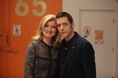 with Arianna Huffington...