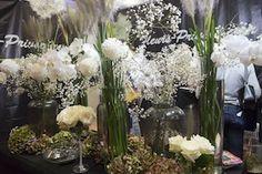 salon du mariage, fleurs, mariage, centre de table, fleurs-privees.com