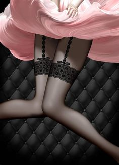 Chantal Thomass, lingerie available on… Belle Lingerie, Luxury Lingerie, Sexy Lingerie, French Lingerie, Chantal Thomass, Silk Stockings, Black Stockings, Vintage Stockings, Black