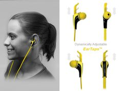 EarTaps™ - Dynamically Adjustable fit for Active Lifestyles by Lumin LLC — Kickstarter