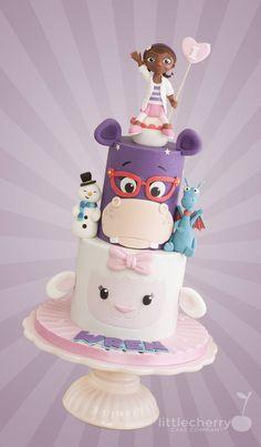 Doc McStuffins Cake