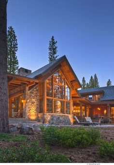 O like the big glass  Residential Home Uphoff, Martis Camp by MWA Architects , Jim Morrison Construction, Truckee, CA