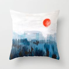 Sea Picture No. 3 Throw Pillow by Prelude Posters - $20.00