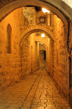 Old City wall.