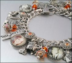 Keepsake Designer Jewelry Personalized Memorial Charm Bracelet Custom