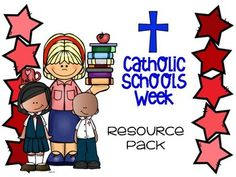 Updated January 2017! This NO-PREP resource pack includes a variety of printables to use with mini-lessons, as morning work, or extra activities during Catholic Schools Week.  Contents: We Love Our Catholic School  Illustration/Writing Sheets (Can be used on a bulletin board!)How Sweet It Is Writing sheets Parent Letter Pre-writing/Writing SheetsHow Many Words Can You Make?