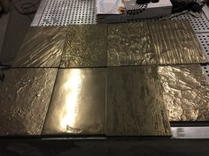 A selection of our current range of metallic panels, suitable for wall panels and joinery.