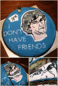 This is a birthday cake. How amazingly awesome this is.