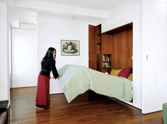 Murphy bed - more small space ideas