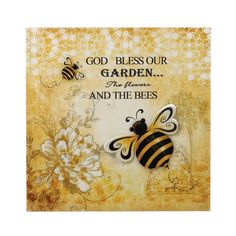 Bumble Bee Garden Wall Art - Bring the buzzing beauty of a garden inside with this iron wall art. Iron Wall Art, Metal Wall Art, Bee Quotes, Soul Quotes, Buzz Bee, I Love Bees, Tin Walls, Garden Wall Art, Bee Friendly
