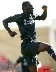 Preseason Swindon vs Liverpool 1-2, Christian Benteke
