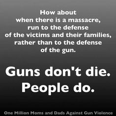 There are too many guns that are too easy to get in America today. It's time for some common sense laws about what guns you may own and all gun sales should have a waiting period and a sufficient background check to keep guns away from those that should not have them.