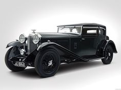Bentley 8 litre short chassis mayfair fixed head coup 1932