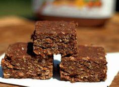 gluten free no bake nutella bars @Michelle Minton