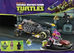 print paper sets tmnt lego | ... buy more than 3 sets to earn a full set of the 4 ninja turtle minifigs