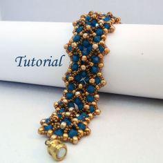 Tutorial Opal Markiza Bracelet - Beading pattern PDF. $6.00, via Etsy.