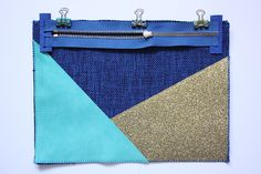 Sensational Tips Sewing Pattern Ideas. Brilliant Tips Sewing Pattern Ideas. Sewing Tutorials, Sewing Projects, Sewing Patterns, Angle Parfait, Diy Pochette, Diy Clutch, Diy Bags Purses, Diy Clothes Videos, Techniques Couture