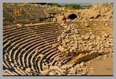 Ruínas do Anfiteatro de Patara na Atual Turquia