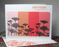CAS187 Ombre Blocks by CAKath - Cards and Paper Crafts at Splitcoaststampers