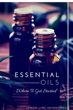Get Started with Essential OIls | This is an excellent starting point for anyone trying to figure out how to get started using essential oils with their family and using them with their kids