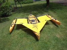 Hobie Adventure island Kayak Trampoline & splash shield set - Yellow in Sporting Goods, Water Sports, Kayaking, Canoeing & Rafting   eBay