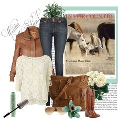 """Country Winter Wonderland"" by hawkins-sheila on Polyvore"