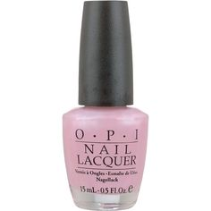 O.P.I Nail Polish in Rosy Future 15ml (22 AUD) ❤ liked on Polyvore featuring beauty products, nail care, nail polish, beauty, nail, makeup, opi, opi nail lacquer, shiny nail polish and opi nail care