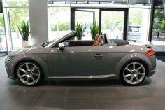 Audi TT RS Roadster in Nardo Grey