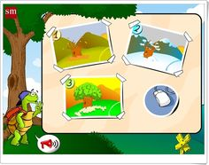 """""""Juega con Menta, la tortuga"""" (Juegos interdisciplinares de Educación Infantil de 4 años) High School Spanish, Spanish Class, Journal Prompts, Games, Linux, Website, Home, Teaching Resources, Mint"""