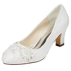 Women's+Heels+Spring+/+Fall+Others+Stretch+Satin+Wedding+/+Party+&+Evening+/+Dress+Chunky+Heel+Crystal+/+Pearl+Ivory+/+White+Others+–+USD+$+62.99