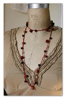 [Red Thread Necklace/Bracelet]