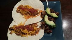 Fan freaking tastic dinner!!  Ranch Chicken Tacos and Black Bean Quinoa Avacado Salad!!!  Yummy!! =)  Rachel Chicken Tacos  4 chicken breasts 1 pkg taco seasoning 1 pkg Ranch seasoning  1/4 cup ranch dressing   Put all in crock pot on low for 4-6 hours enjoy!!!  Black Bean Quinoa and Avacado Salad  1 1/2 cups water 3/4 cups your favorite salsa 1-2 cans black beans drained and rinsed 1 cup quinoa  1 tsp cumin 1 tsp garlic Salt and pepper to taste  Put all ingrediants in crockpot on low for 2…