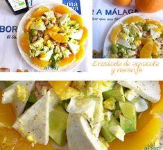 La cocina malagueña-Alsurdelsur: Ensalada de aguacate y naranja
