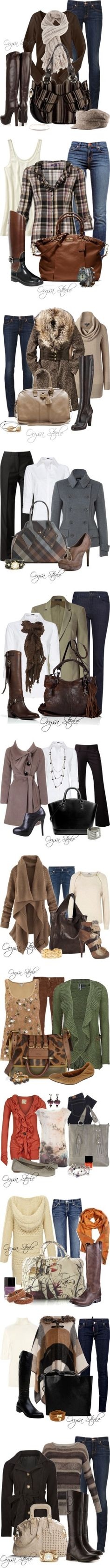 """Fall"" by orysa.polyvore #Fashion #Womens #Fall"