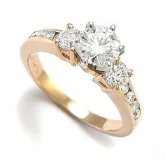 Rose And White Gold Engagement Rings For Women 34