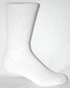 3e5c528bf6fa Wilson White Crew Socks 12 Pair Men s Size 10-13 Made In The USA!