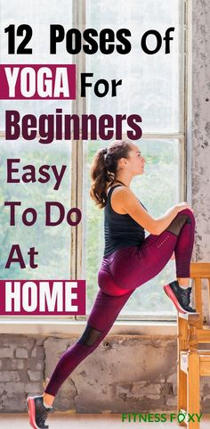 "12 Poses Of Yoga For Beginners Easy To Do At Home Toned body is a need for everyone these days. Try out these Poses Of Yoga For Beginners Easy To Do At Home"". Learn Yoga, How To Do Yoga, Yoga Fitness, Fitness Workouts, Fitness Tips, Full Body Yoga Workout, Basic Yoga Poses, Different Types Of Yoga, Stress"