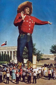 Big Tex, Texas State Fair [1955, Dallas Fair Park]