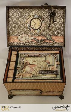A Ladies Diary Memory Box 5 Clare Charvill Graphic 45