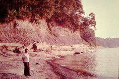 1982 Bluffs near Westfield NY on Lake Erie