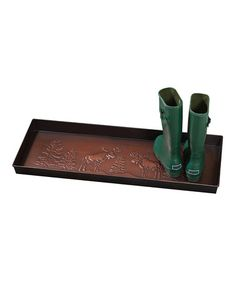 Take a look at this Moose Boot Tray by Everything Doormats on #zulily today!