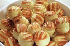 FarkasVilmos: Burgonyás pogácsa Swedish Recipes, Hungarian Recipes, Dessert Drinks, Dessert Recipes, Savory Pastry, Homemade Sweets, Salty Snacks, World Recipes, Winter Food