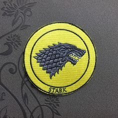 Game of Thrones Patch Stark Patch Iron on Patches Sew on patches Embroidered patch hat patch embroidered patches iron on patches punk patches patches punk patch patches iron on patch embroidered patch movie patch Game of Thrones Stark Patch wolf patch hat patch 3.99 USD #patches #iron on patches