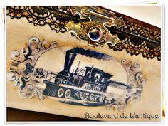 Boulevard de L'antique: Vintage Train Station Box