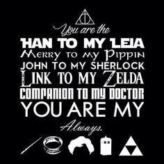 dr who, geek, harry potter, lotr, nerd, sherlock, star wars, zelda