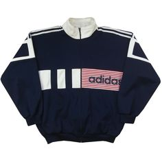 Vintage Adidas Tracksuit Jacket Size Medium Grubby Mits ($26) ❤ liked on Polyvore featuring outerwear, jackets, adidas jacket, stitch jacket, collar jacket, adidas and vintage jackets