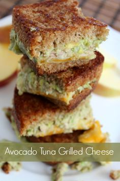 Avocado Tuna Grilled Cheese Sandwich...TO DIE FOR! Recipe by Kami Kilgore on 4men1lady.com