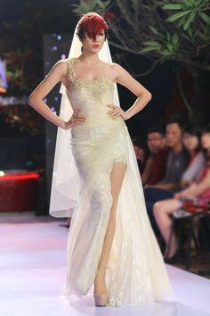 Trang Trần - Bộ sưu tập váy cưới của NTK Phạm Đăng Anh Thư