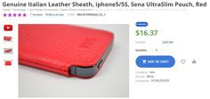 Iphone Accessories, Italian Leather, Apple Iphone, Zip Around Wallet, Phones, Conditioner, Pouch, Coding, Technology